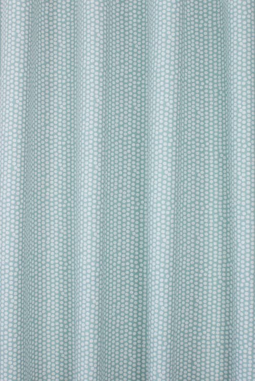 Spotty Seafoam Curtain Fabric