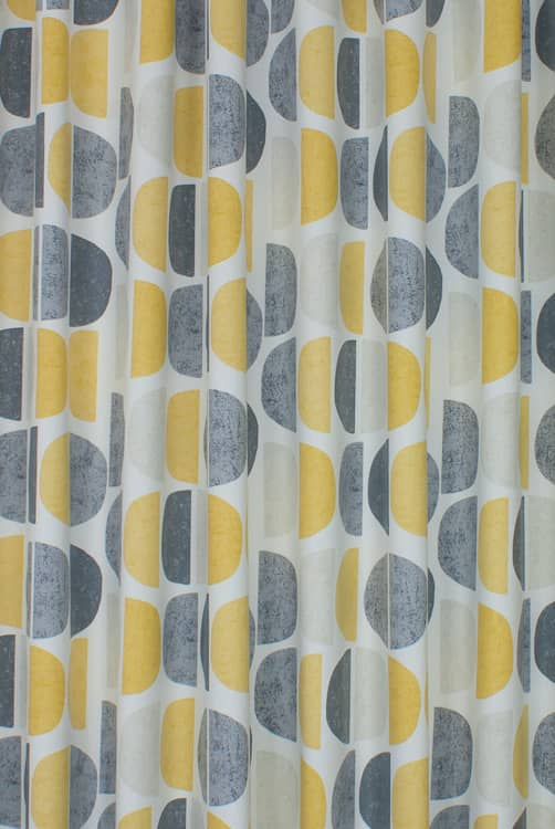 Luna Ochre Made to Measure Curtains