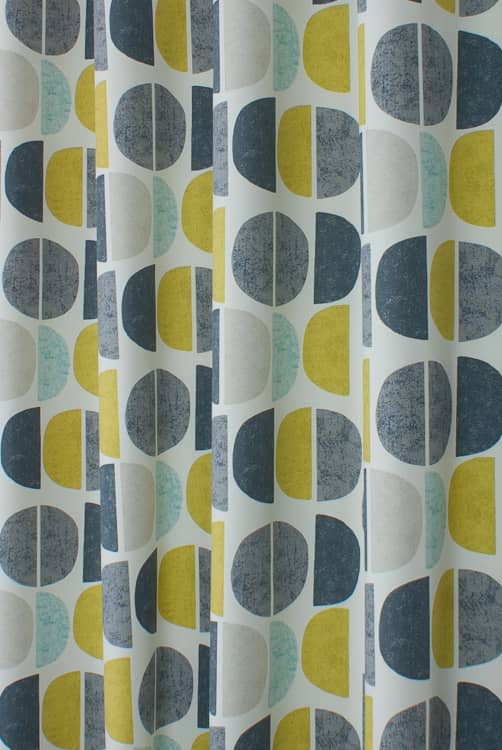 Luna Teal Made to Measure Curtains
