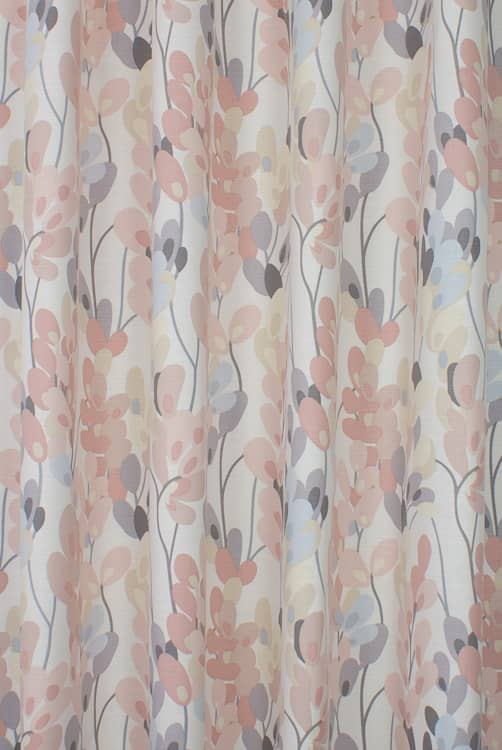 Twirl Pastel Pink Made to Measure Curtains