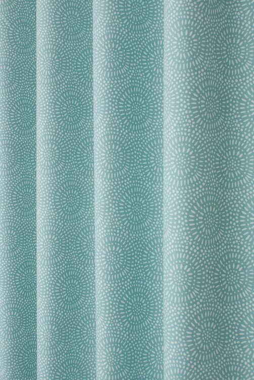 Whirl Spearmint Curtain Fabric