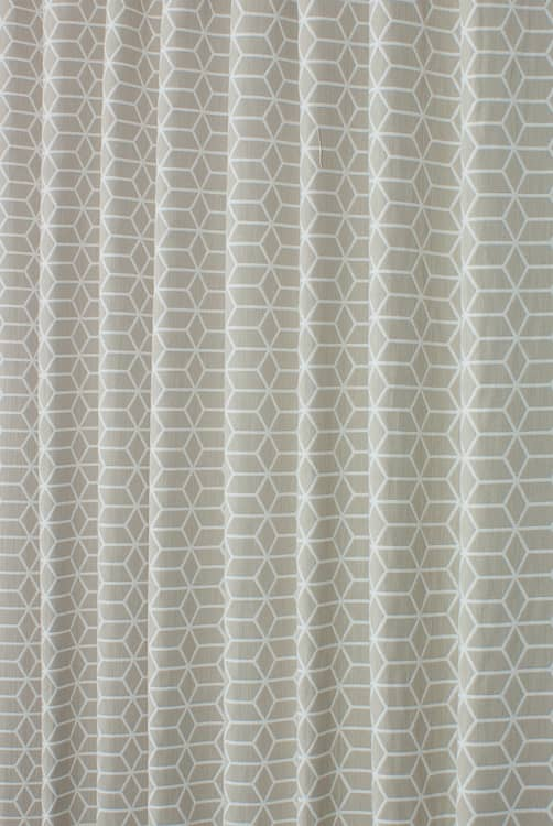Hampshire Parchment Curtain Fabric