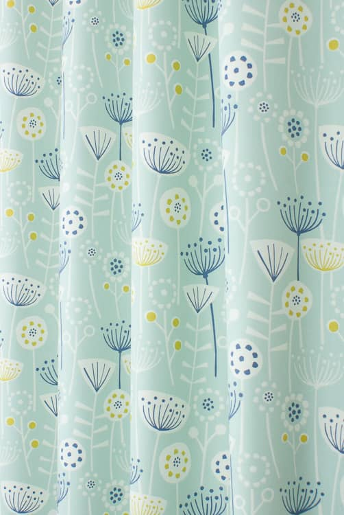 Bergen Seafoam Made to Measure Curtains