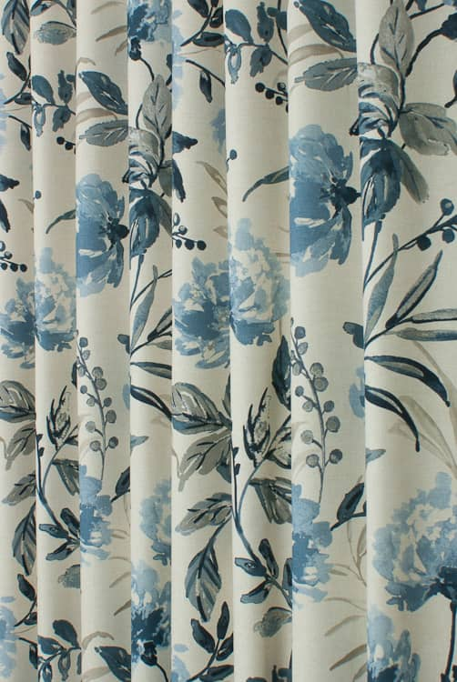 Ivy Grey Skies Curtain Fabric