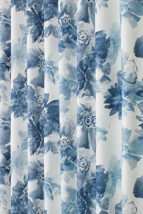 Oregan Blue Made to Measure Curtains
