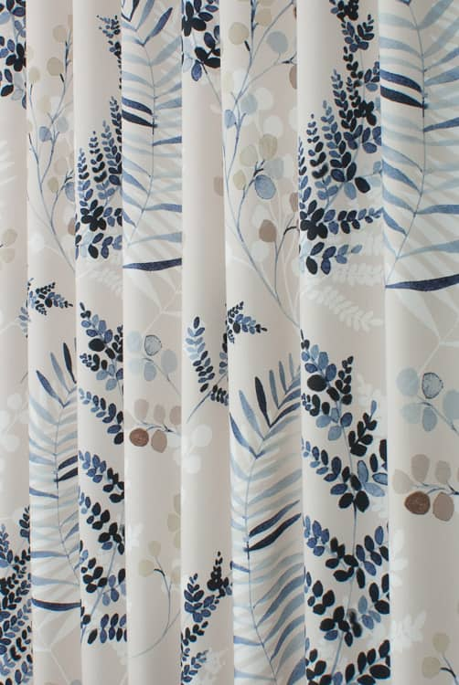 Robyn Sky Blue Made to Measure Curtains