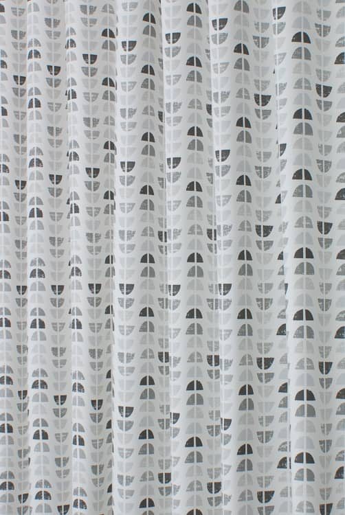 Odense Grey Skies Curtain Fabric
