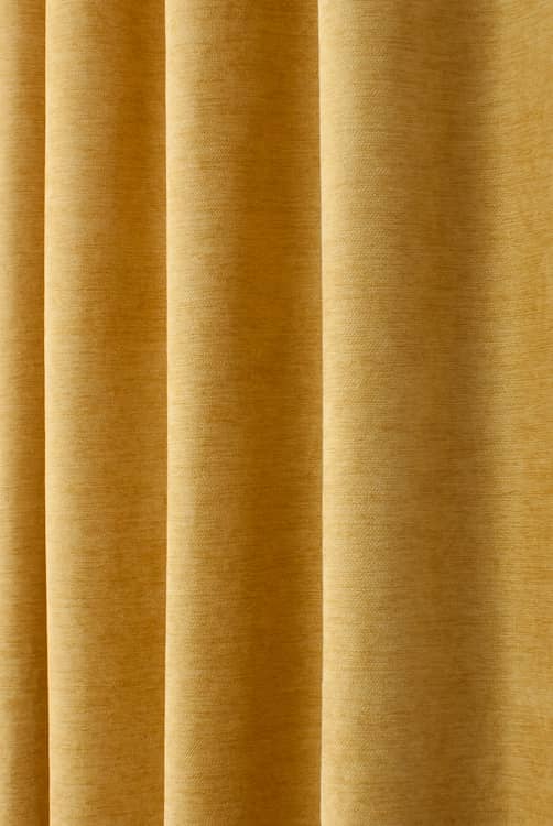 Tomlin Mustard Curtain Fabric
