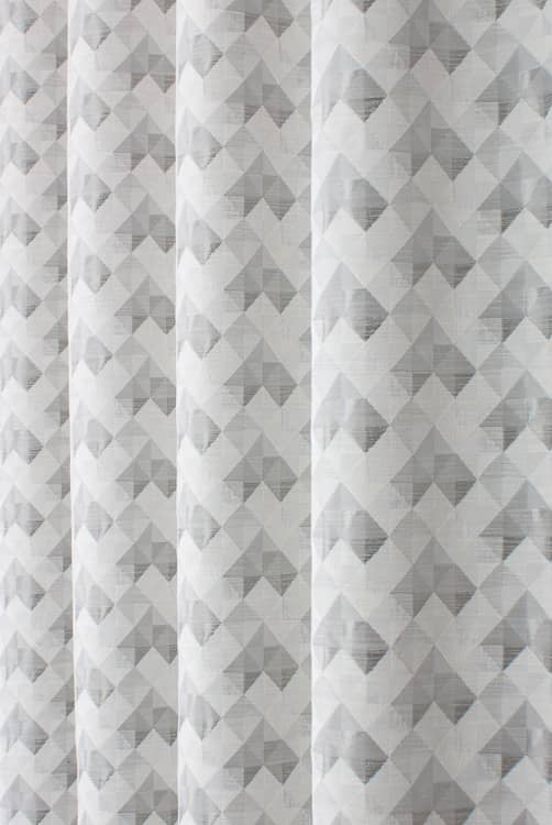 Novaro Blanc Curtain Fabric