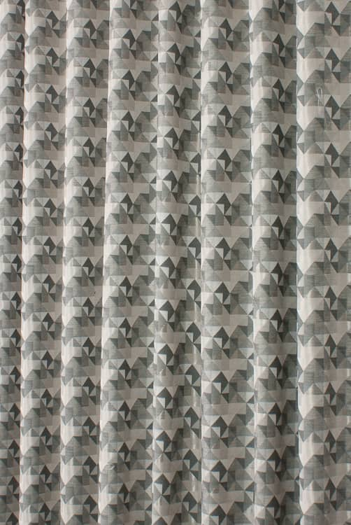 Novaro Slate Curtain Fabric
