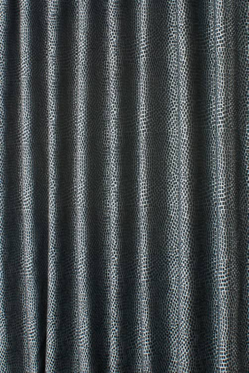 Mosaic Black Made to Measure Curtains