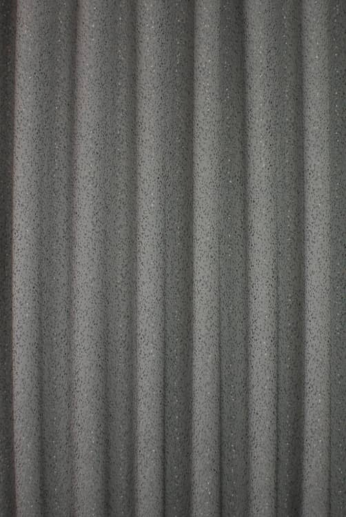 Glimmer Graphite Roman Blinds