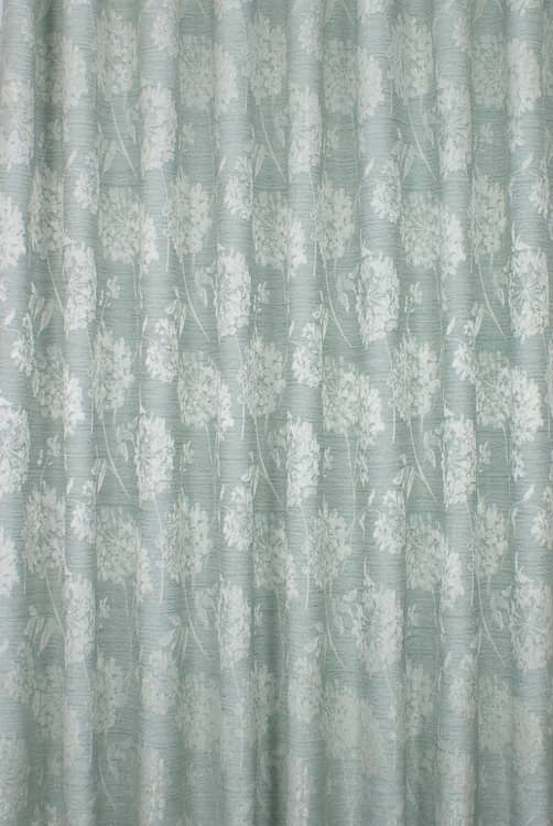 Baxter Duck Egg Curtain Fabric