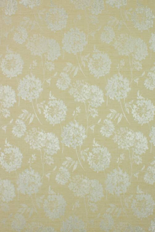 Baxter Ochre Curtain Fabric
