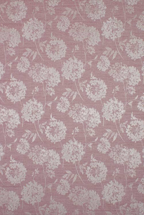 Baxter Bordeaux Curtain Fabric