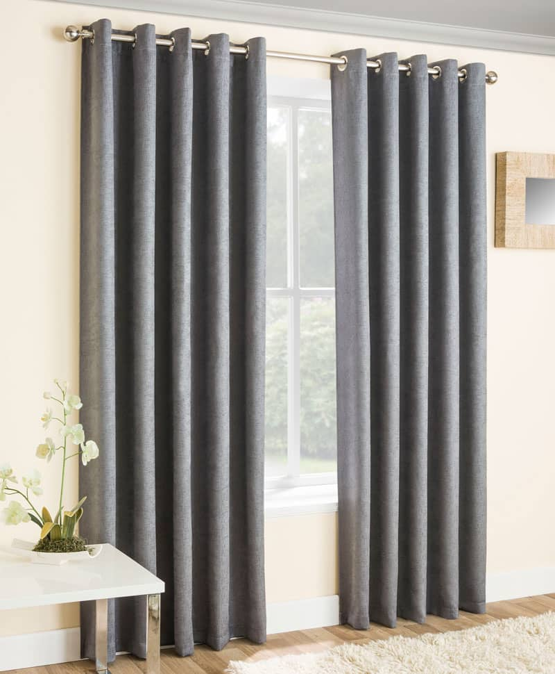 Vogue Grey Ready Made Curtains