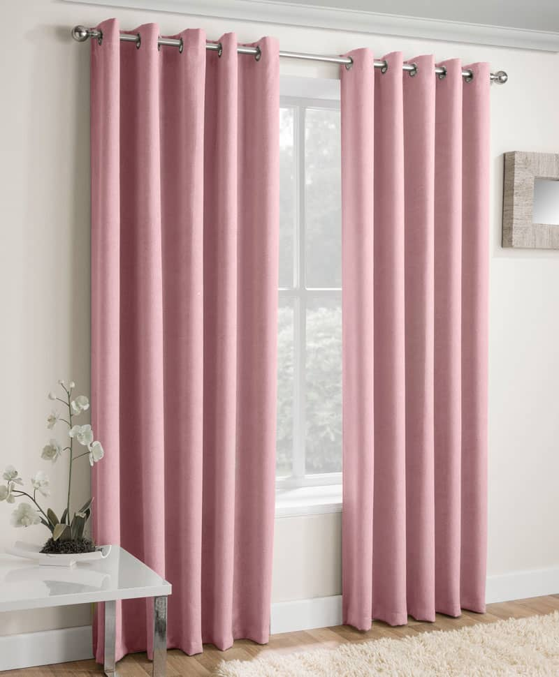 Vogue Blush Ready Made Curtains
