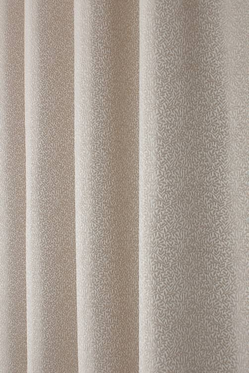 Riviera Natural Curtain Fabric