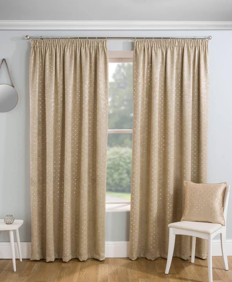 Gemini Natural Ready Made Curtains