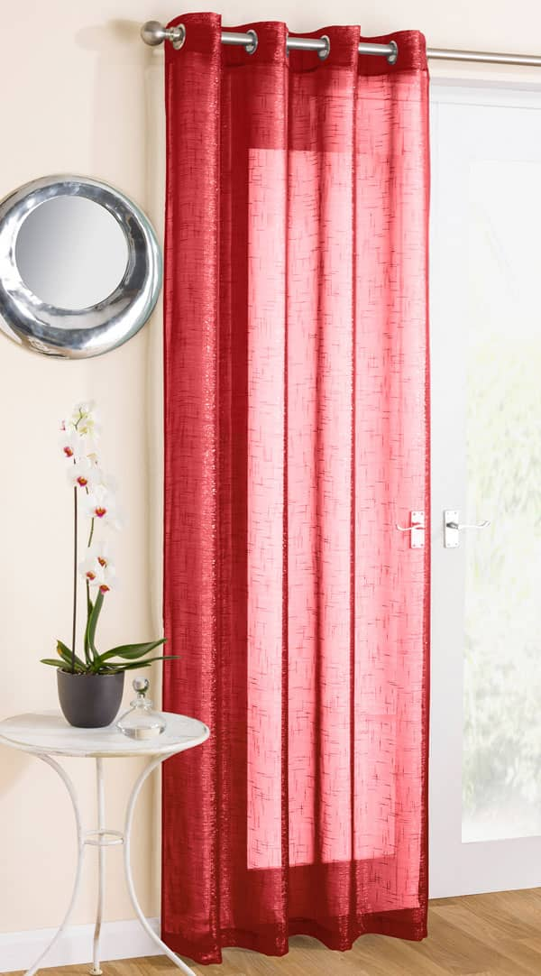 Marrakesh Red Voiles & Voile Panels
