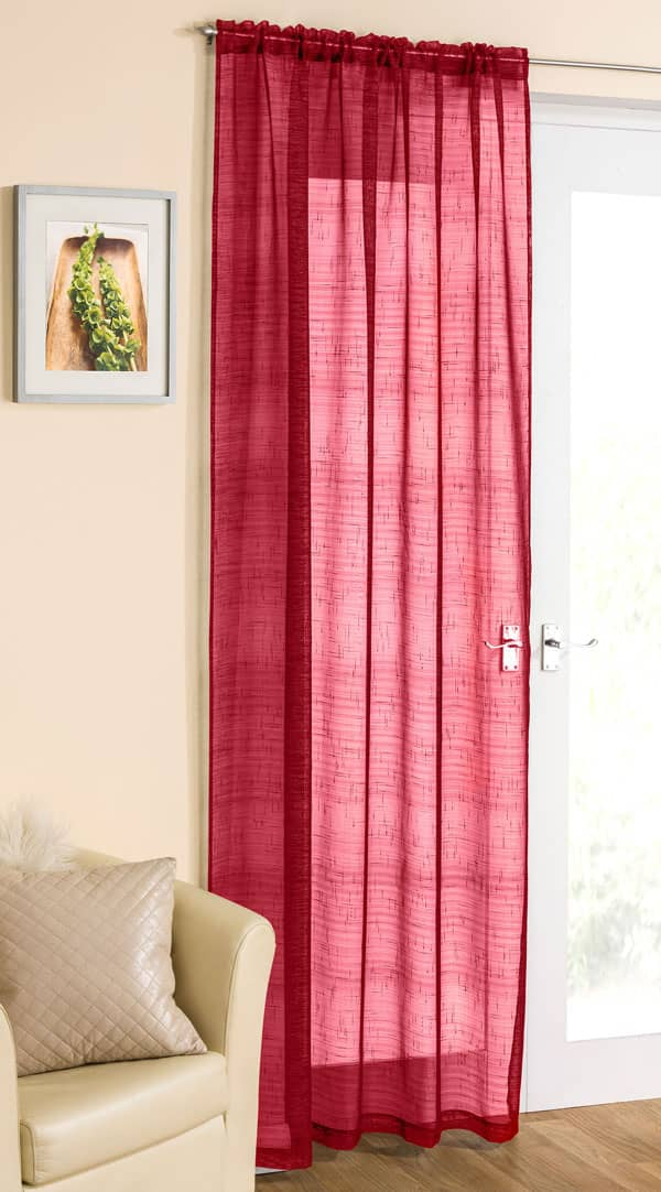 Casablanca Red Voiles & Voile Panels