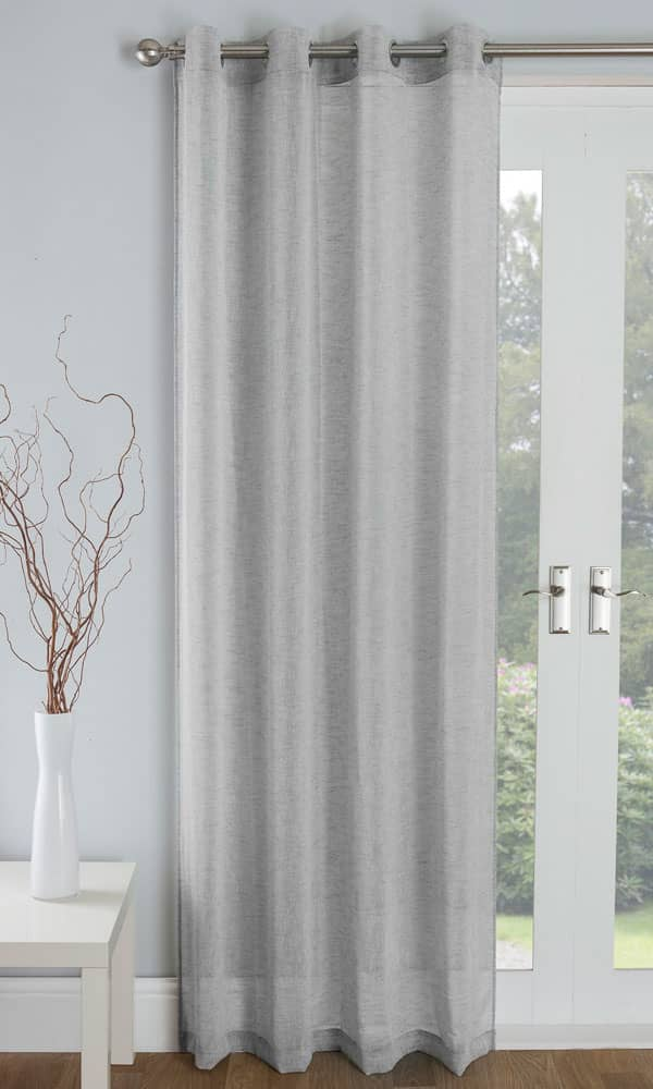 Palm Grey Voiles & Voile Panels