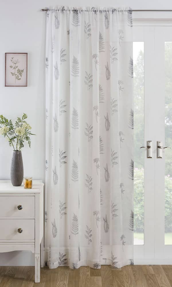 Bracken Grey Voiles & Voile Panels