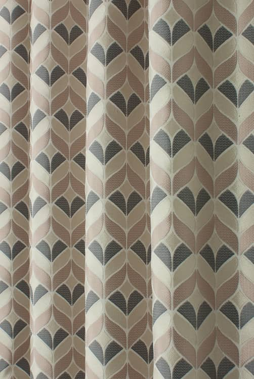 Illion Caramel Curtain Fabric