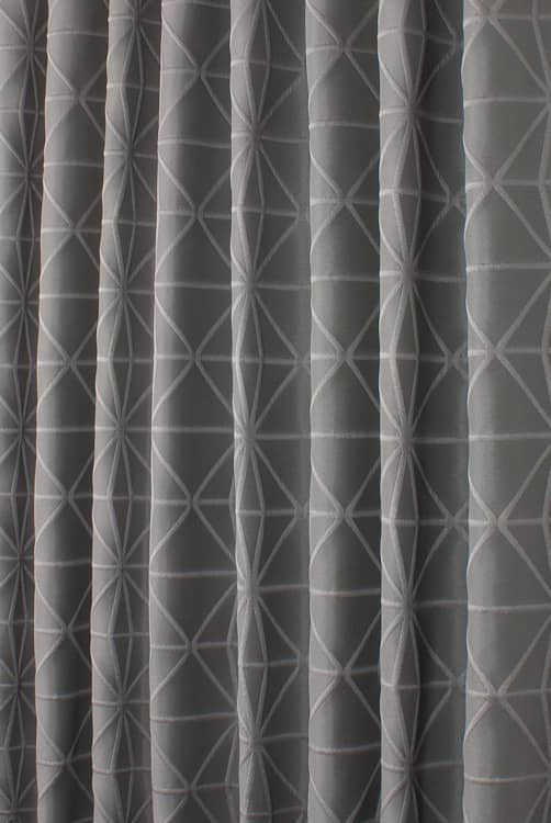 Petronas Graphite Roman Blinds