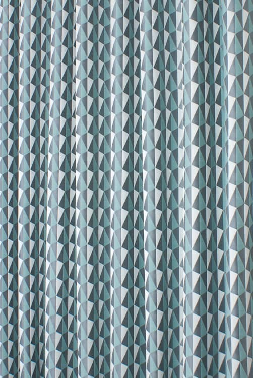 Shard Aqua Made to Measure Curtains