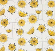 Dandelion Mobile - Yellow
