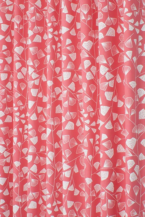 Fern Coral Made to Measure Curtains