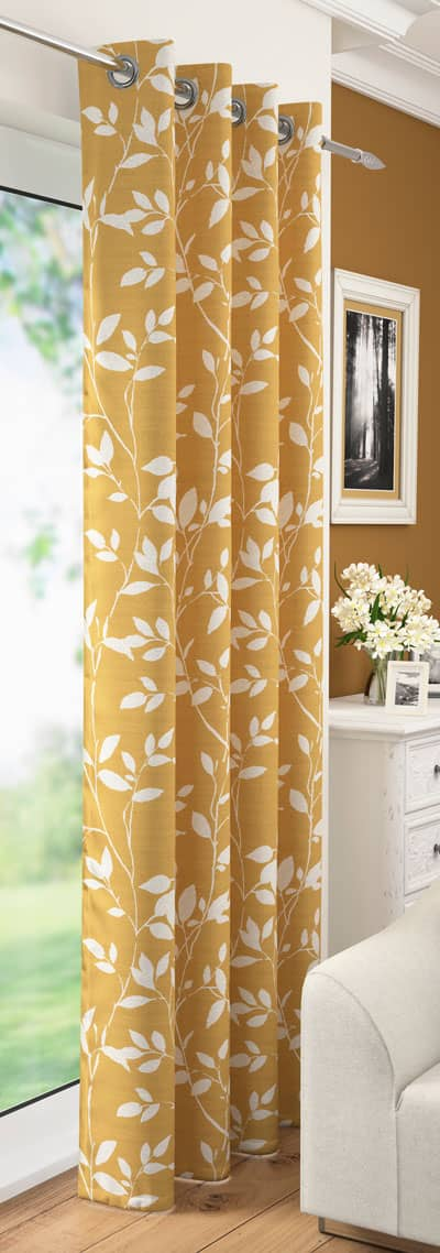 Laural Ochre Voiles & Voile Panels
