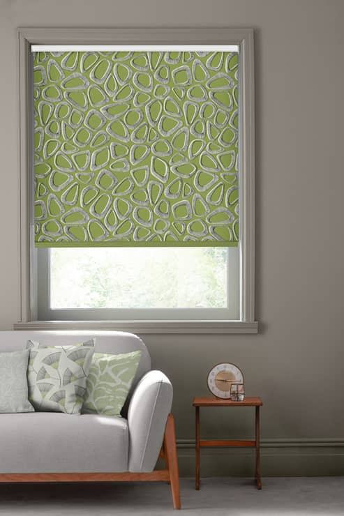 Pebbles Cricket Green Roller Roller Blinds
