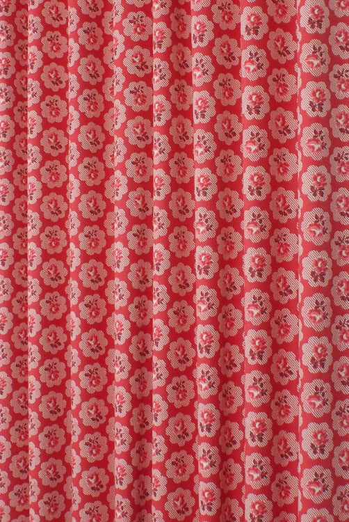 Freston Rose Red Made to Measure Curtains
