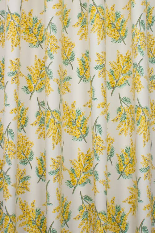 Mimosa Flower Citrine Made to Measure Curtains