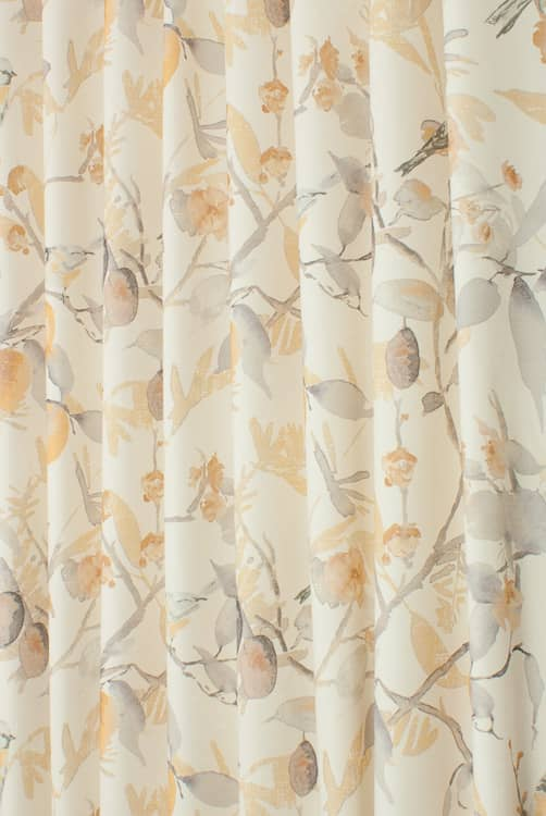 Harabel Ochre Roman Blinds