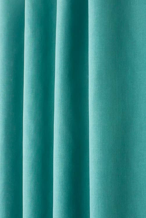 Linum Peacock Roman Blinds