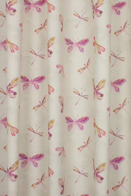 Marlowe Fuchsia Made to Measure Curtains