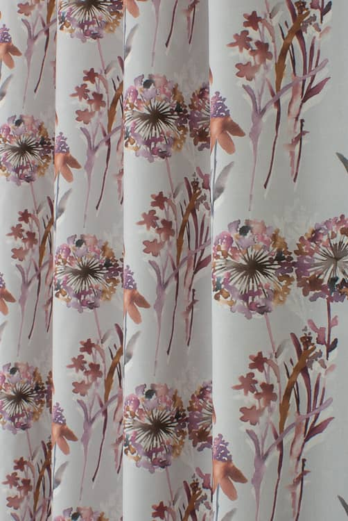 Rivington Berry Made to Measure Curtains
