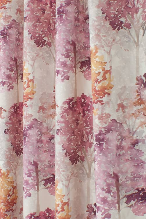 Rosewood Berry Made to Measure Curtains