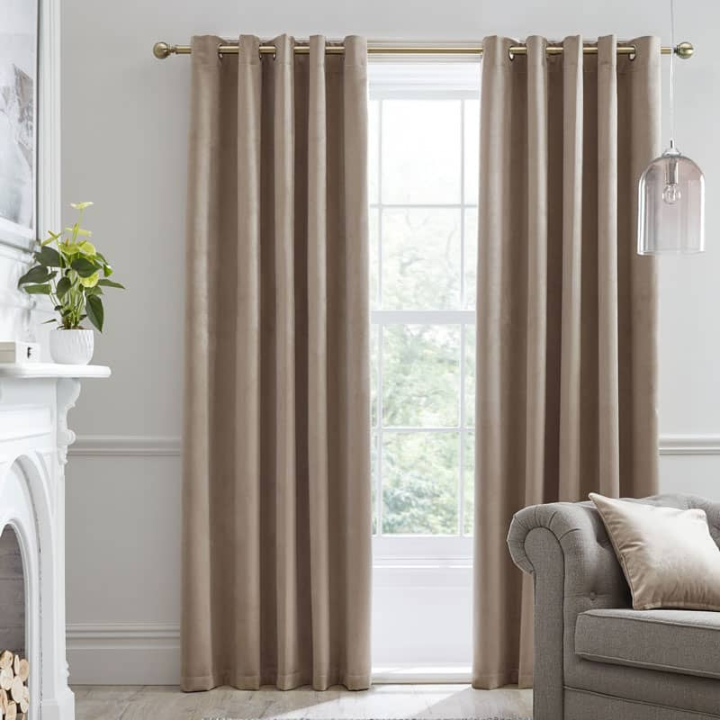 Montrose Linen Ready Made Curtains