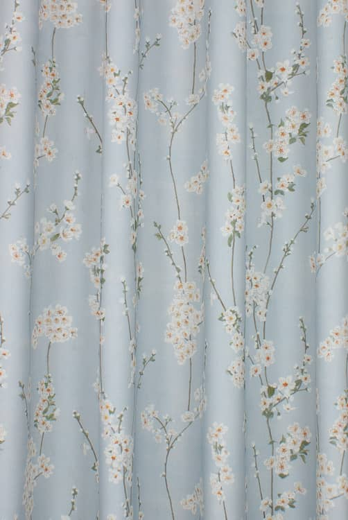 Almond Blossom Porcelain Curtain Fabric