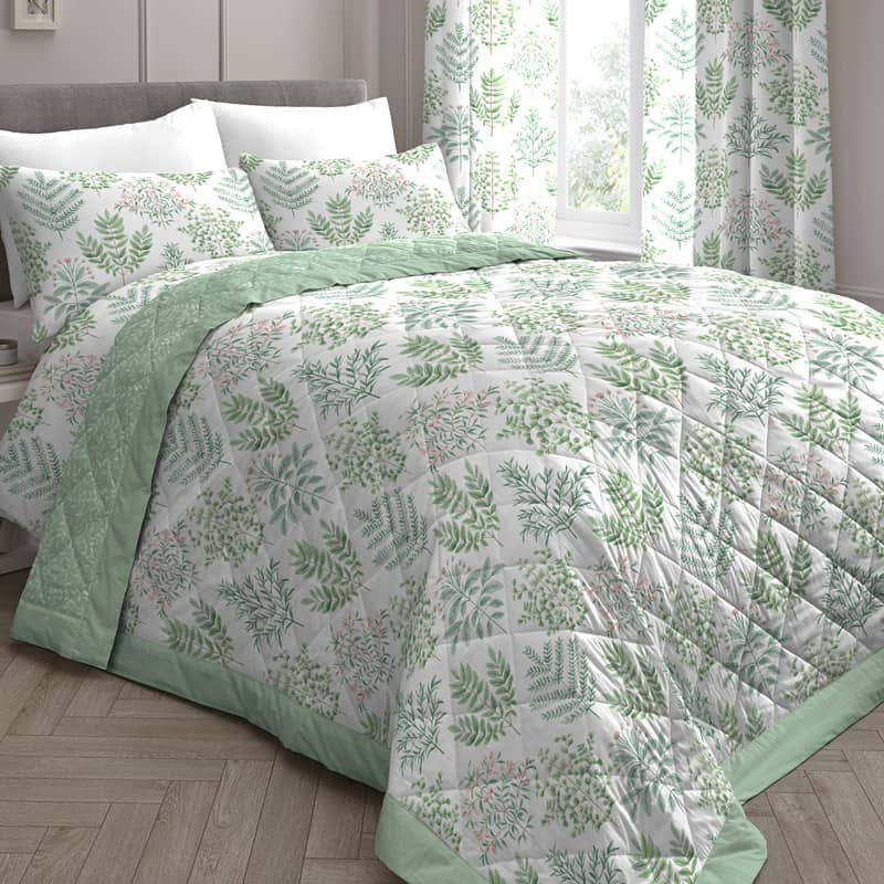 Emily Green bedding