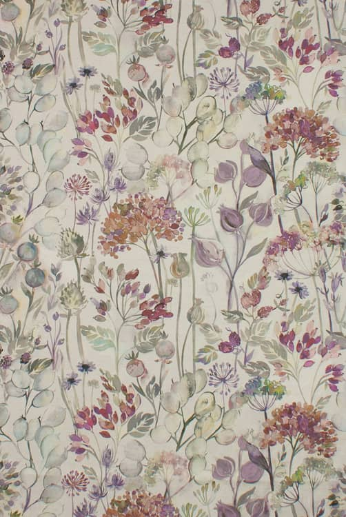 Country Hedgerow Bloom Linen