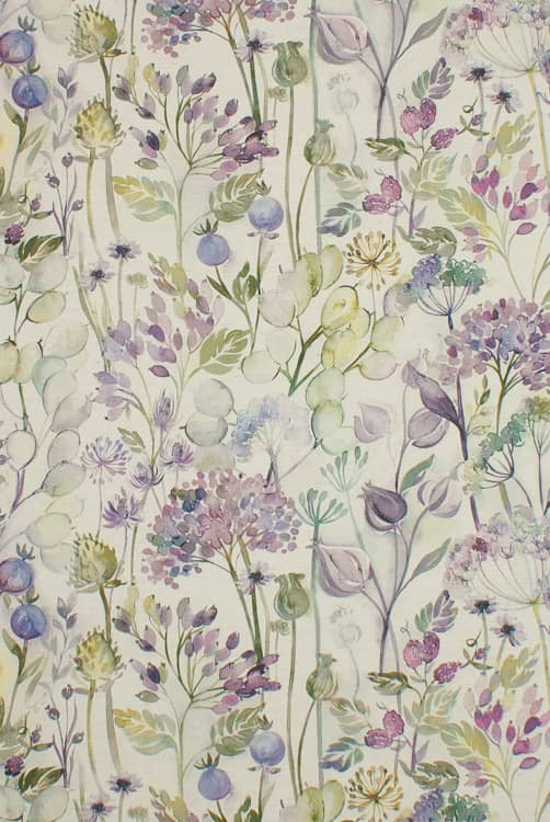 Country Hedgerow Lilac Linen