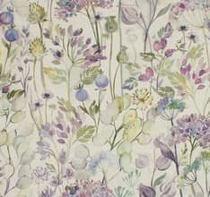 Country Hedgerow - Lilac Linen