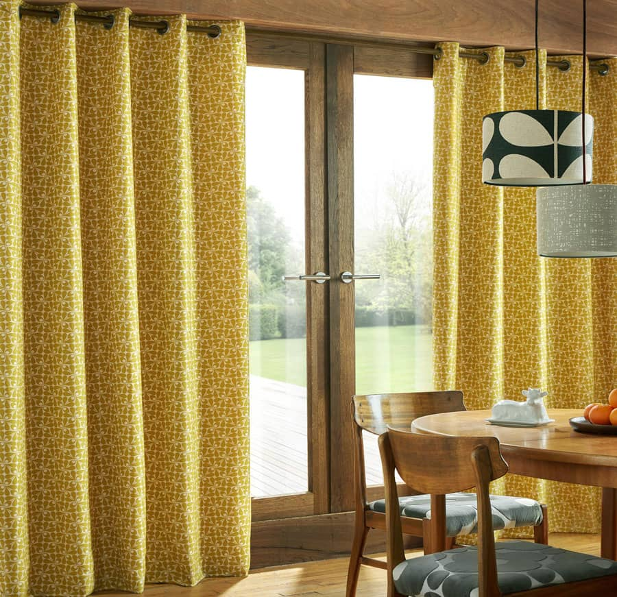 Woven Acorn Cup (RM) Dandelion Ready Made Curtains