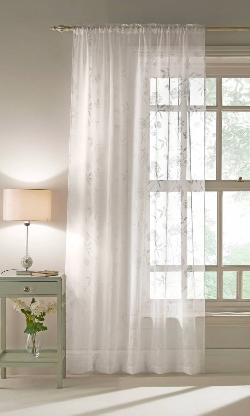 Amalfi White Voiles & Voile Panels