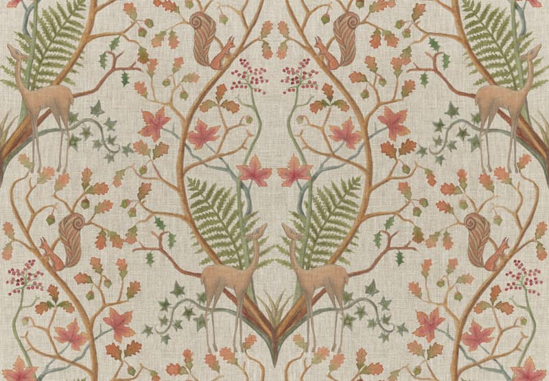 A Woodland Trail Linen